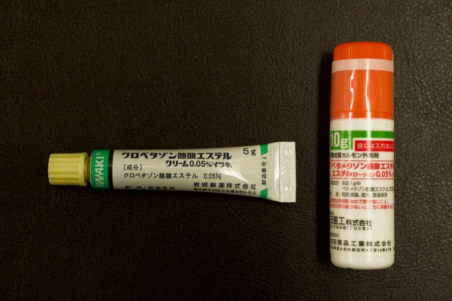 抗炎症の外用剤